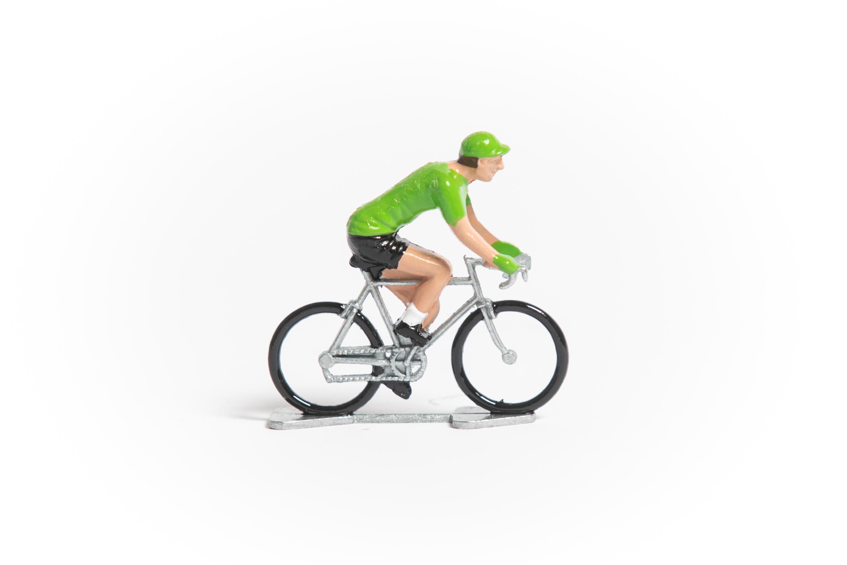 tour de france miniature cyclists set cycling souvenirs