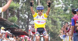 Yonathan Salinas alla Vuelta al Tachira