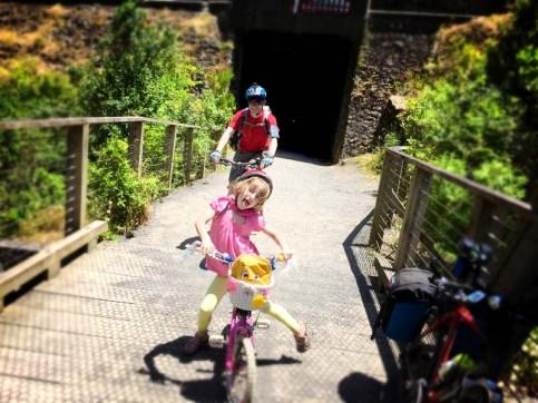 Bridge + Tunnel = kids heaven