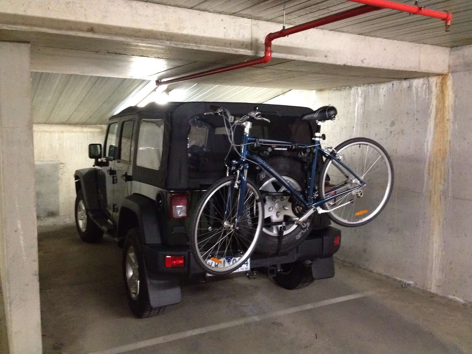 Transport Bike By Car - Boot Mounted Bike Rack Carrier