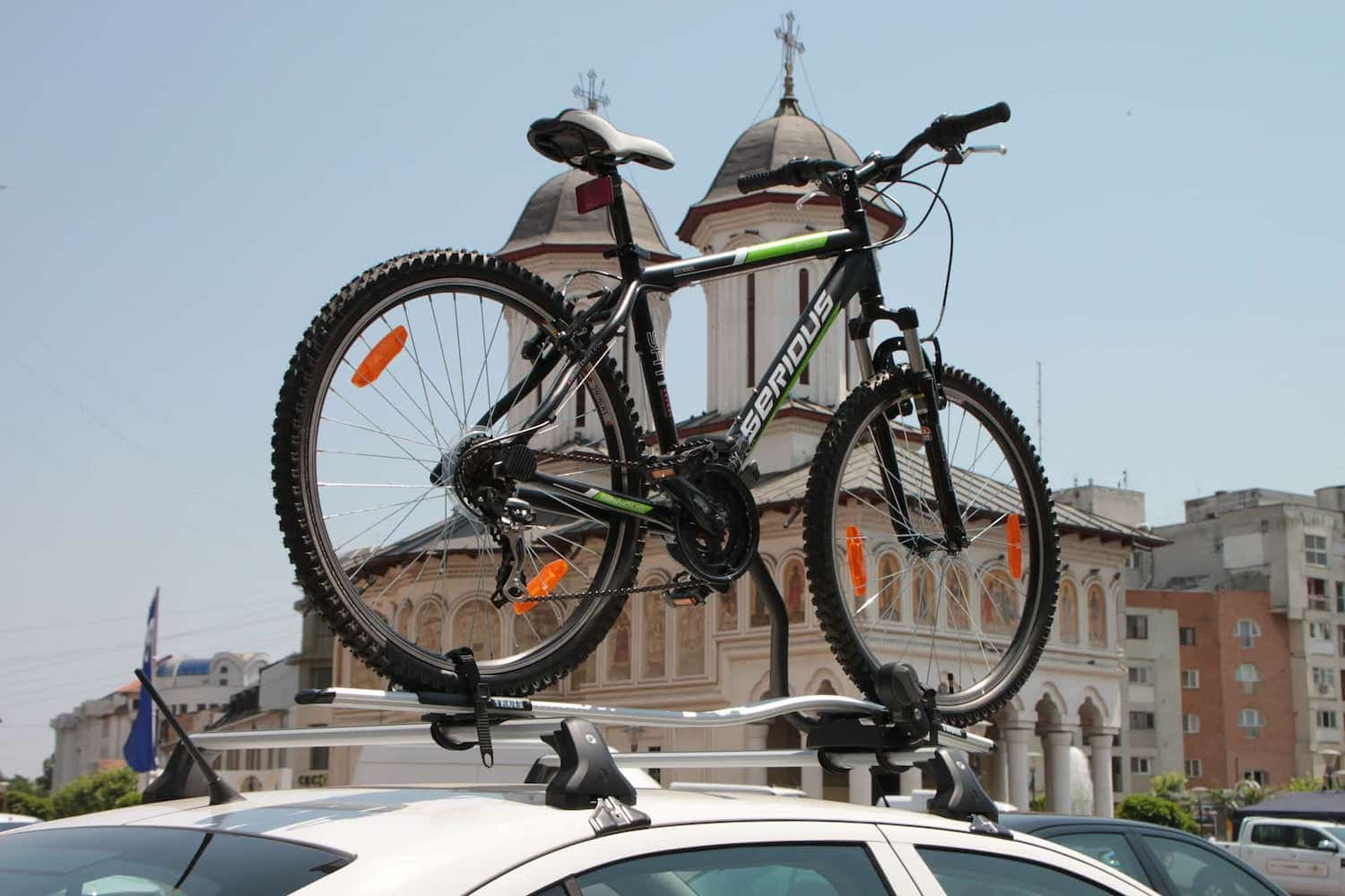 Transport Bike By Car - Roof Bike Rack Carrier