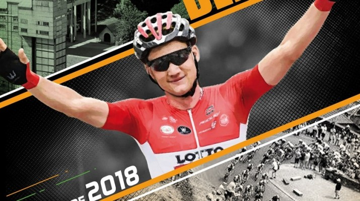 Affiche Grand Prix de Wallonie 2018
