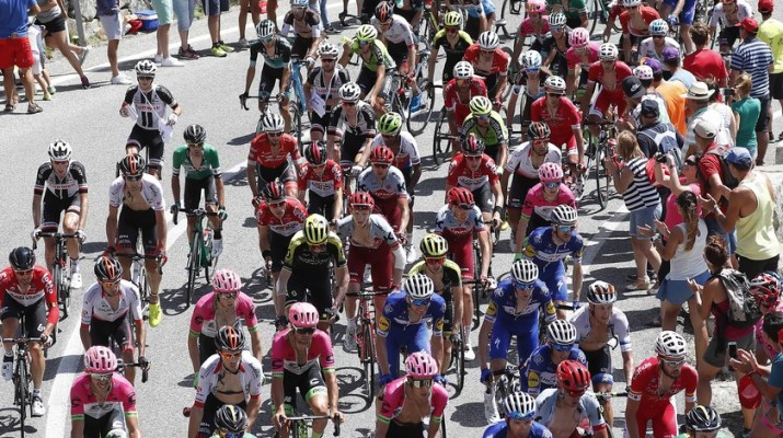 Peloton - 9e étape Tour d'Espagne Vuelta 2018