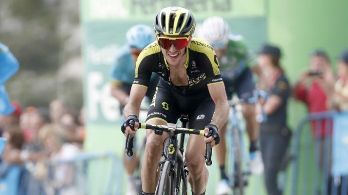 Simon Yates - Mitchelton-Scott - Attaque 14e étape Tour d'Espagne 2018