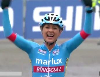 Coupe du Monde Cyclo-cross #5 – Coxyde: Denise Betsema devant Brammeier et Worst