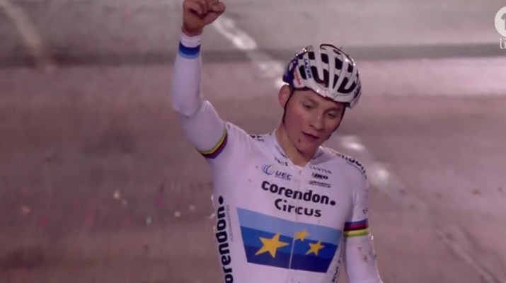 Mathieu van der Poel - Victoire - Cyclo-cross Diegem 2018