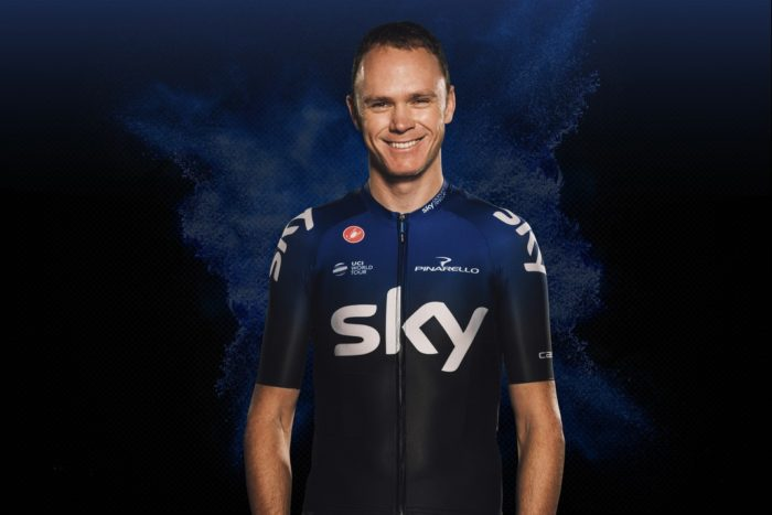 Chris Froome - Team Sky - Maillot 2019
