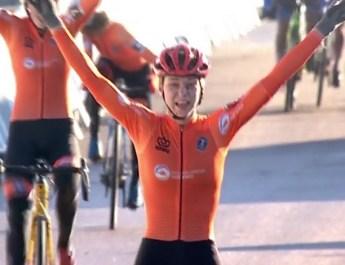 Mondiaux de cyclo-cross – Espoirs dames : Van der Heijden célèbre la domination néerlandaise