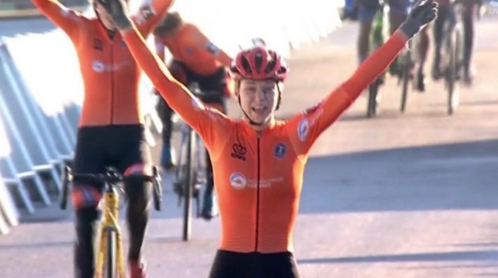 Inge Van der Heijden - Championne du monde cyclo-cross espoir 2019