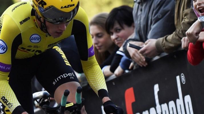 Primoz Roglic - Contre-la-montre 1re étape Tour d'Italie Giro 2019 - RCS Sport La Presse