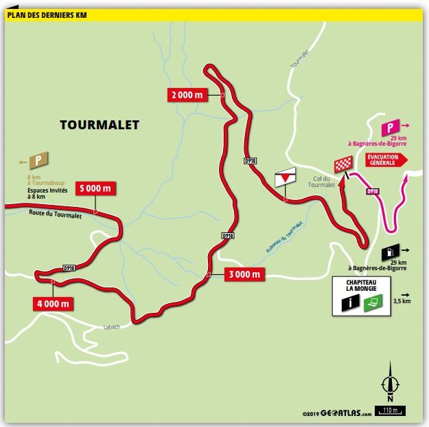 Une manifestation retarde le départ de la 14e étape — Tour de France