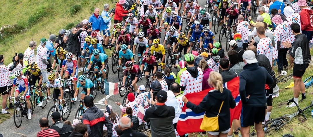 Peloton - Hourquette d'Ancizan - 12e étape Tour de France 2019