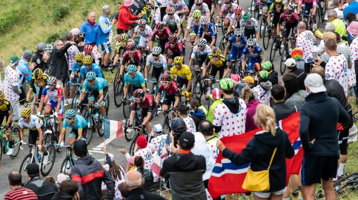 Peloton - Hourquette d'Ancizan - 12e étape Tour de France 2019