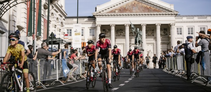 Team INEOS - Place Royale Bruxelles - Tour de France 2019