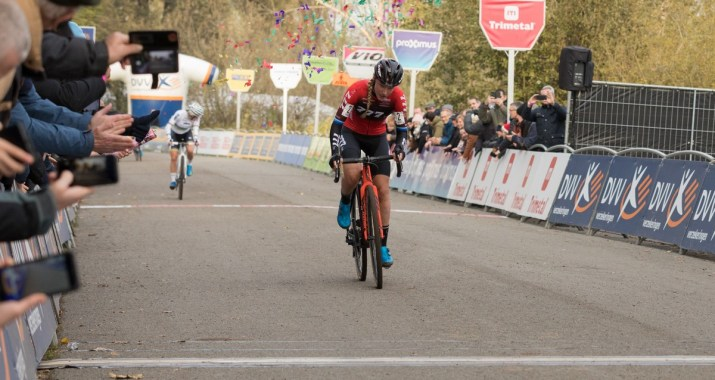Annemarie Worst - Victoire Cyclo-cross Hamme 2019 - Alain VDP Photography