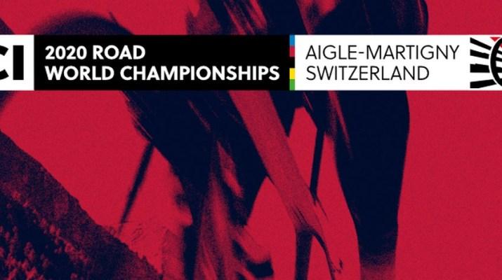 Logo - Championnats du monde cyclisme sur route - Aigle-Martigny 2020