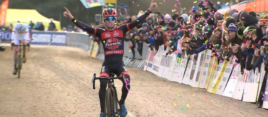 Eli Iserbyt - Vainqueur cyclo-cross Nommay 2020