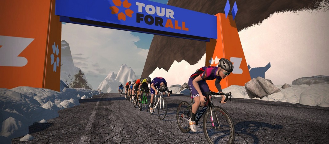 Zwift Tour for All - Image 2020
