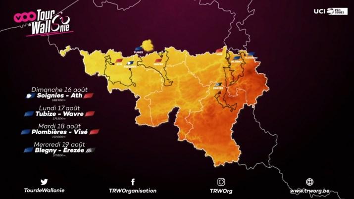Parcours - Tour de Wallonie 2020