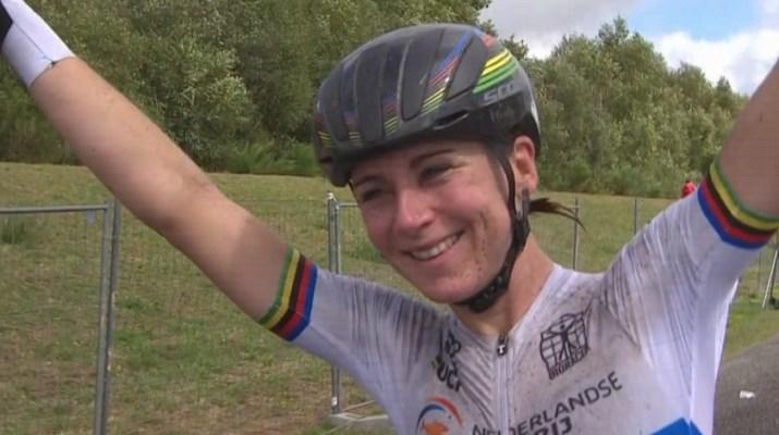 Annemiek Van Vleuten - Championne d'Europe 2020 - Capture Eurosport