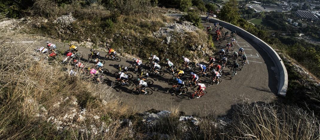 Peloton Grand Colombier - 15e étape Tour de France 2020 - ASO Alex Broadway