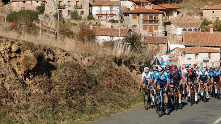 Peloton - 7e étape Tour d'Espagne 2020 - Photo GOmezSport - Luis Angel Gomez