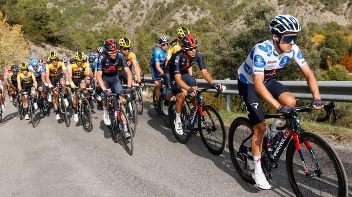 Peloton - 5e étape Tour d'Espagne 2020 - ASO Luis Angel Gomez GOmezsport