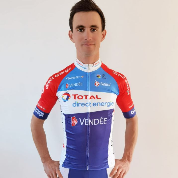 Total Direct Energie - Alexis Vuillermoz - Maillot 2021