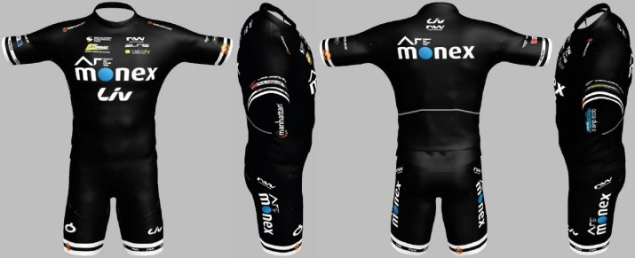 AR Monex Liv Women's Team - Maillot 2021