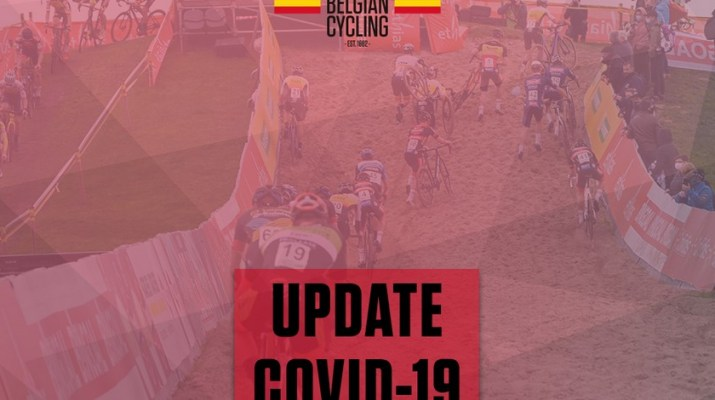 Illustration Belgian Cycling - Update Covid-19