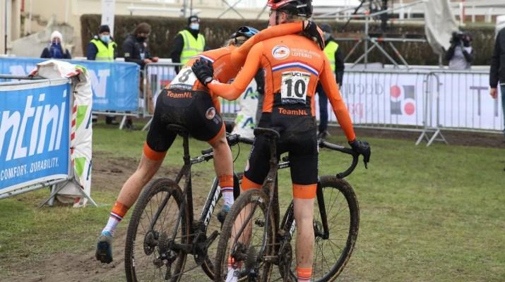 Joie Aniek van Alphen Fem van Empel - Championnats du monde de cyclo-cross 2021 - Alain Vandepontseele