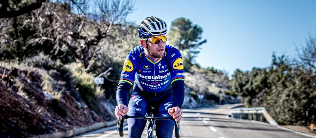 Mark Cavendish - Entraînement Stage - Deceuninck-Quick Step 2021 - Wout Beel