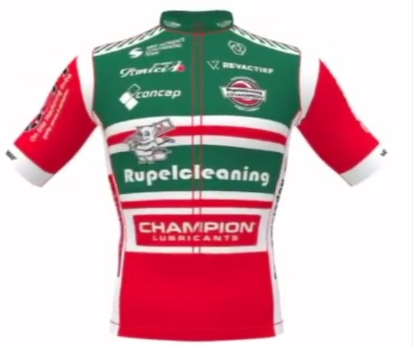 Team Rupelcleaning-Champion Lubricants - Maillot 2021