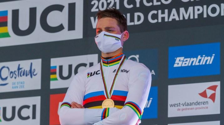 Mathieu Van der Poel Arc-en-ciel - Championnats du monde de cyclo-cross 2021 - Alain Vandepontseele