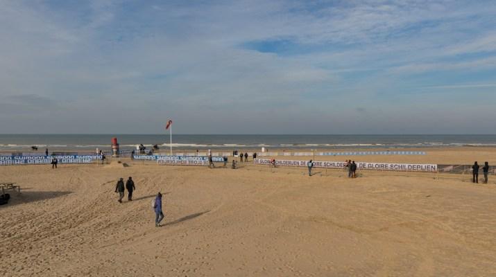 Plage Ostende - Championnats du monde de cyclo-cross 2021 - Alain Vandepontseele