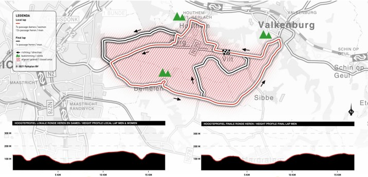 Amstel Gold Race - Carte et profils 2021
