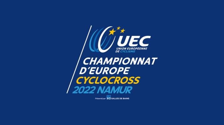 Affiche - Championnats d'Europe de cyclo-cross 2022 Namur