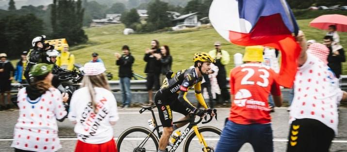 Primoz Roglic Lâché - 8e étape Tour de France 2021 - ASO Pauline Ballet