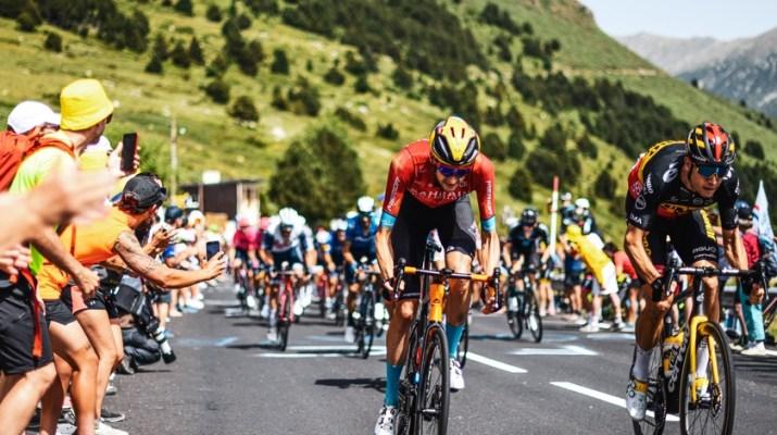 Sprint Wout Poels Wout van Aert - 15e étape Tour de France 2021 - ASO CHarly Lopez