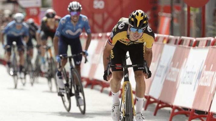 Attaque Primoz Roglic - 11e étape Tour d'Espagne Vuelta 2021 - ASO Luis Angel Gomez Gomez Sport