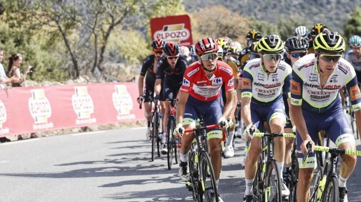 Peloton Intermarché-Wanty-Gobert - 15e étape Tour d'Espagne Vuelta 2021 - ASO GomezSport Luis Angel Gomez