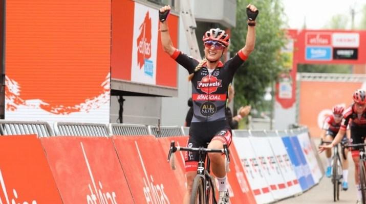 Denise Betsema Vainqueur - Cyclo-cross de Lokeren 2021 - Alain Vandepontseele
