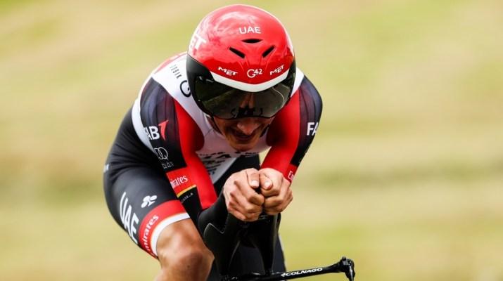 Mikkel Bjerg - Contre-la-montre 4e étape Critérium du Dauphiné 2021 - ASO Fabien Boukla