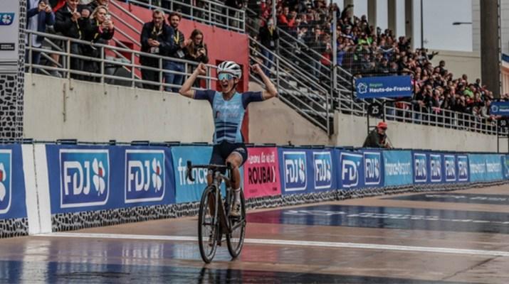 Lizzie Deignan - Vainqueure Paris-Roubaix Femmes 2021 - ASO Fabien Boukla