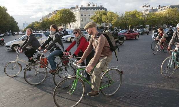 How cycling could help the Paris climate talks change the world