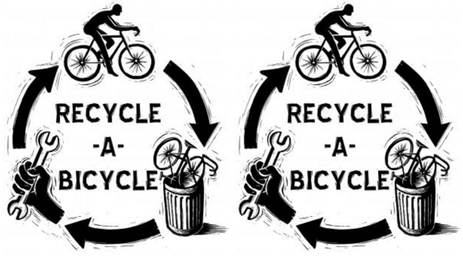 Bicycle recyle project in Kosovo