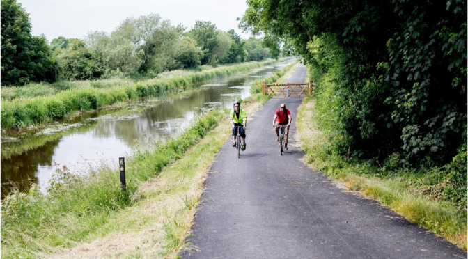 Council plan to connect Offaly to the West with canal Greenways