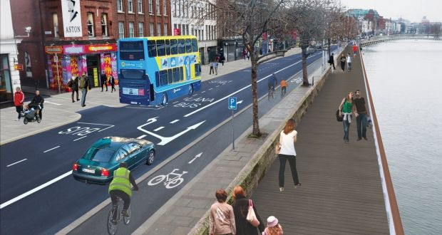 Liffey cycle route selected after seven years of plans