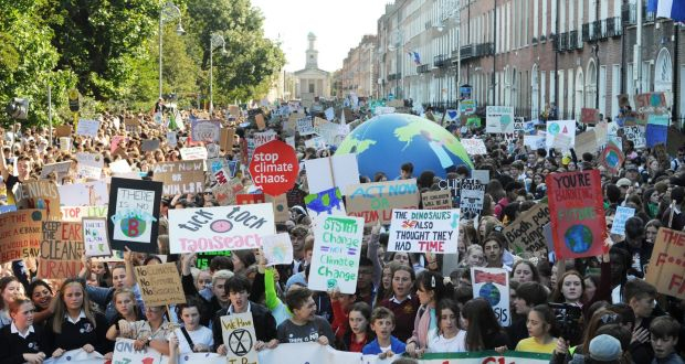 Global protests PUTS pressure ON UN climate action summit
