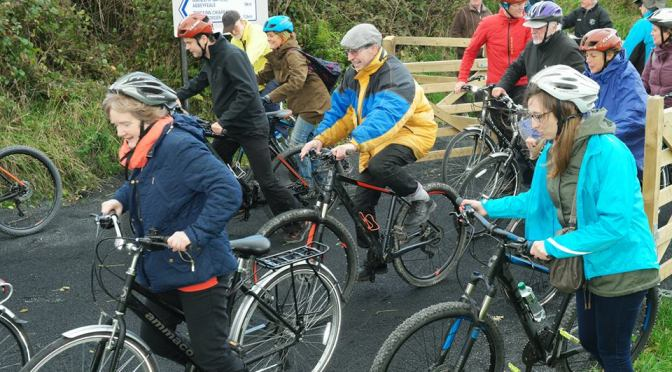 Great Southern Trail Christmas Walk/Cycle, Rathkeale, Co Limerick